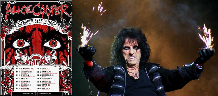 Alice Cooper at The Aiken Theatre