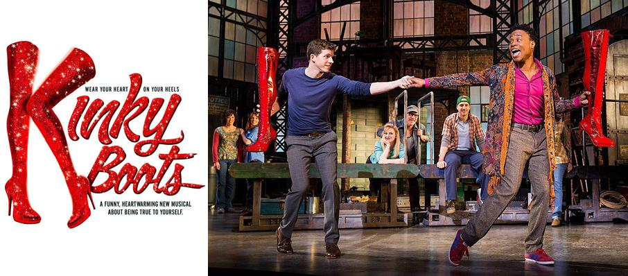 Kinky Boots at The Aiken Theatre