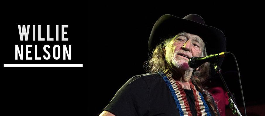 Willie Nelson at The Aiken Theatre