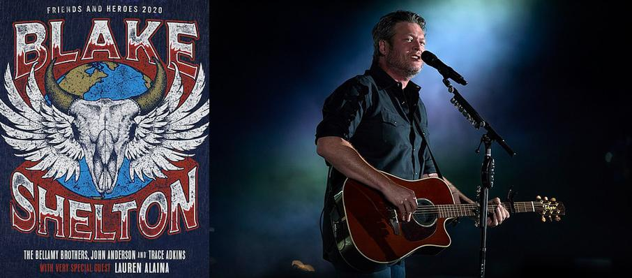 Blake Shelton at Ford Center