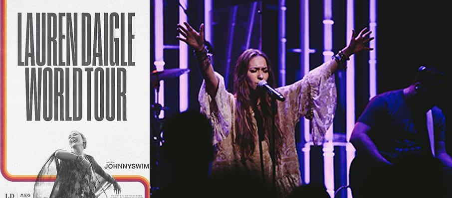 Lauren Daigle at Ford Center