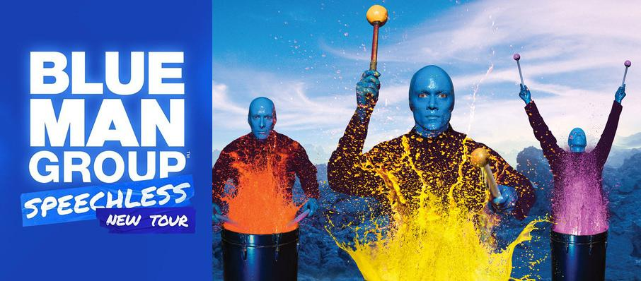 Blue Man Group at The Aiken Theatre