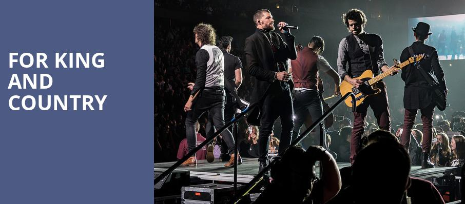 For King And Country, Ford Center, Evansville